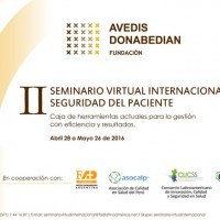 II Seminario virtual internacional sobre Seguridad del paciente