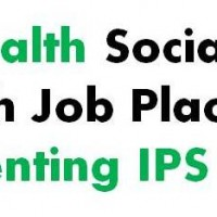Publicado abstract Mental Health Social inclusion through Job Placement: Implementing IPS in Spain