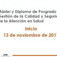 Inicio de nuestros Máster y Diploma de posgrado online