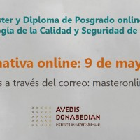 9 mayo: sesión informativa online del Máster y del Diploma de Posgrado