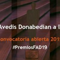 Convocatoria abierta a los Premios Avedis Donabedian a la calidad 2019