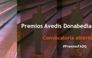 Convocatoria abierta a los Premios Avedis Donabedian a la Calidad 2020