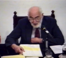 Vídeo inédito del Prof. Donabedian