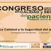 VI Congreso Virtual Internacional en Calidad y Seguridad del Paciente (y seminario)