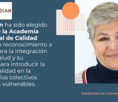 Pilar Hilarión, Miembro de la Academia Internacional de Calidad (IAQS)